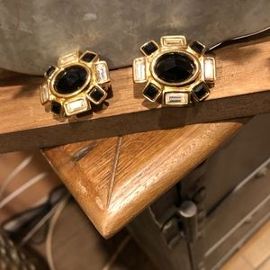 Givenchy Jewelry - GIVIENCHY GOLD CLIP ON EARRINGS